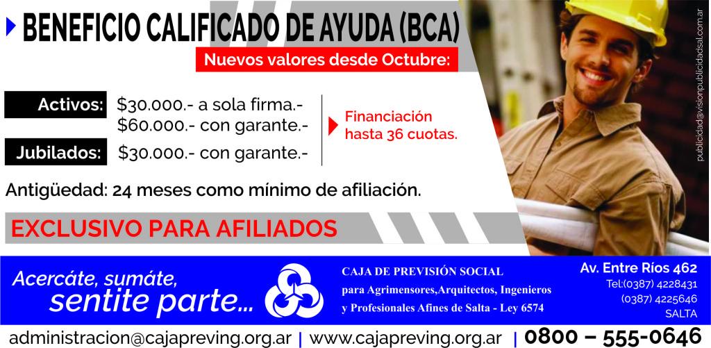 BCA OCT15